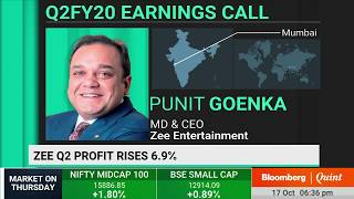 #Q2WithBQ:  Zee Entertainment's Management Holds Conference Call