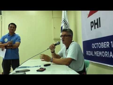 FIFA friendly post-match press Conference - Papua New Guinea vs Philippines
