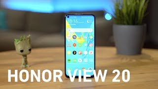 TEST HONOR VIEW 20 : LA CLAQUE