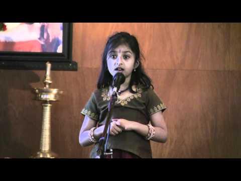 Nandhitha Venkatesh - Gita Chanting video
