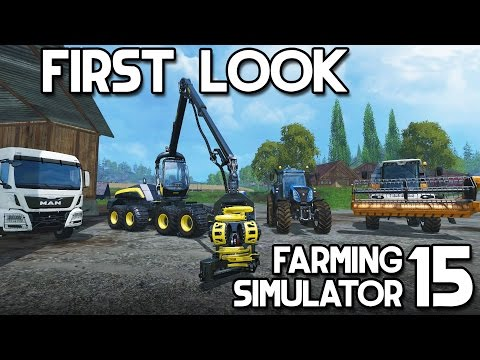 Farming Simulator 15 - First Look (2015)