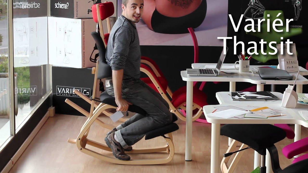 Recensione sedie ergonomiche le abbiamo provate tutte for Sgabello per scrivania