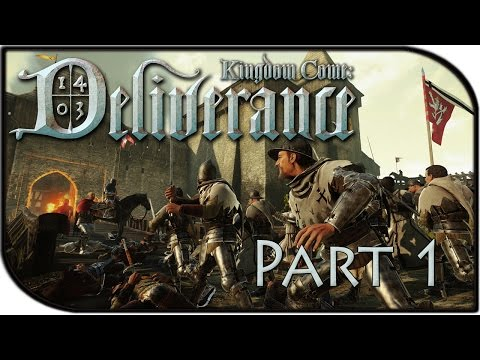 Kingdom Come: Deliverance Gameplay Part 1 - Village, Bowmaster, and Bow Quest! (Alpha Gameplay)