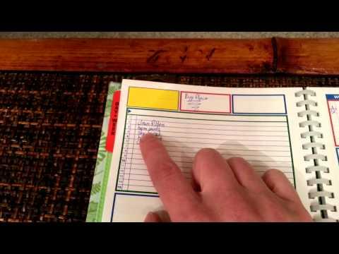 Uncalendar Review/Planner tutorial