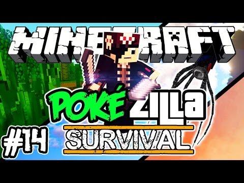 SOLTEM O KRAKEN! (Boss) - PokéZilla Survival! - Minecraft #14