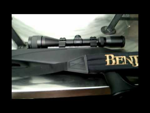 Rifle Benjamin NP Triall al weather! 950fps! con mira center point impresionante! Test!