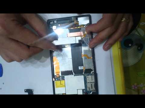 xperia z ultra repair guide c6833 lcd repair
