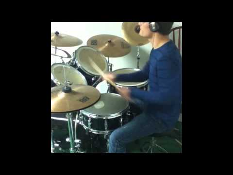 Poetry For The Poisoned Pt 2 - So Long - Kamelot (Drum Cover)
