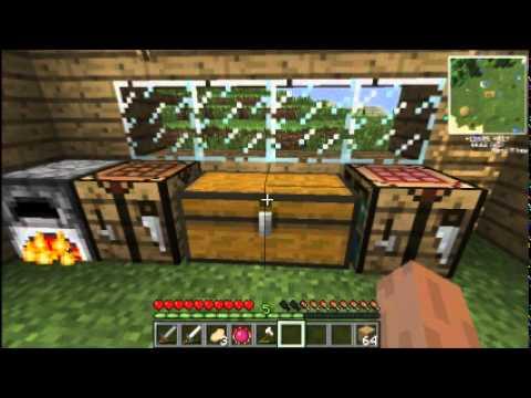 Minecraft-Piedra filosofal y Mini Quarry-E3