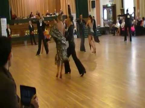 City Of Manchester Open Amateur Latin Semi Final - Rumba 2013
