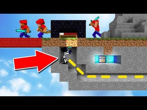 ОНИ НЕ ЗНАЛИ ОТКУДА НА НИХ НАПАДУТ - Minecraft Bed Wars