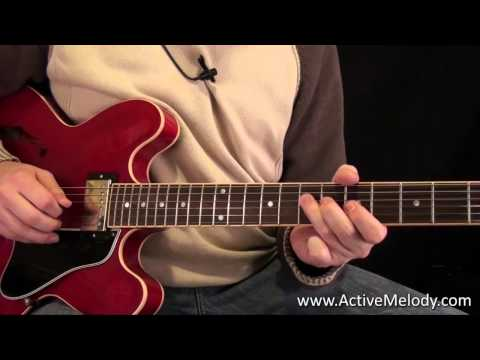 Blues Rhythm and Lead Guitar Lesson