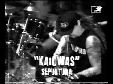 Sepultura - Chaos AD album launch party on MTV`s Headbangers Ball in 1993