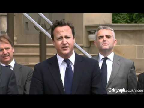 PM David Cameron: 'I disagree with the Archbishop over coalition policies'