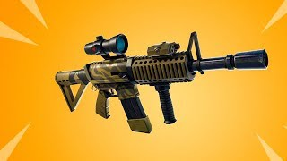 The New THERMAL SCOPED AR in Fortnite..