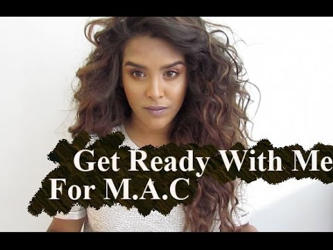 Makeup Tutorial| Get Ready With Me For M.A.C Work