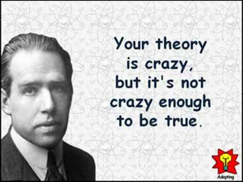 Creative Quotations from Niels Bohr for Oct 7