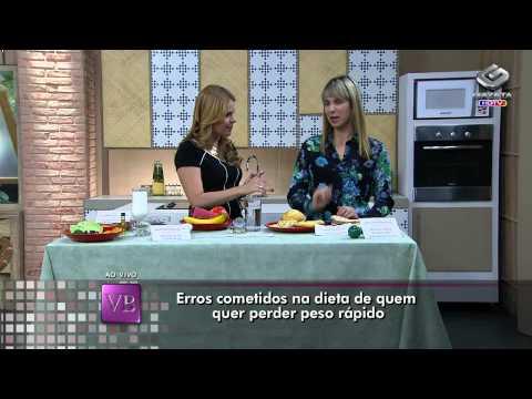 Você Bonita - Erros cometidos na dieta de quem quer perder peso rápido (14/01/14)
