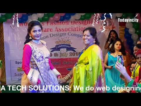 Women's Fashion Designers Welfare Association Vizag First Year Anniversary Ramp Walk Part 2