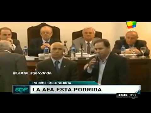 Informe Viluota: La AFA está podrida
