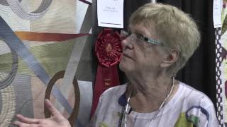 Shirley Gisi Wins 2nd Place in Wall Quilts – Home Machine Quilted Category