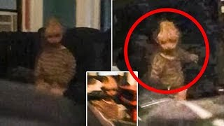 Man Takes Picture of a Ghost Staring at Him in His NYC Apartment...