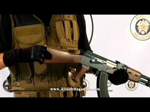 Airsoft Megastore - JG AK47 / AK-47 Tactical Metal Gearbox AEG Rifles Model Line-Up Review