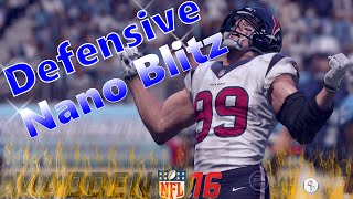 Madden 16: 3-4 Over - Sting Pinch Zone - 5 Man A-Gap Heat! Fast/Easy Set-Up! Nano Blitz!