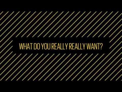 #WhatIReallyReallyWant...