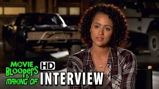 Furious 7 (2015) Behind The Scenes Movie Interview - Nathalie Emmanuel (Ramsey)
