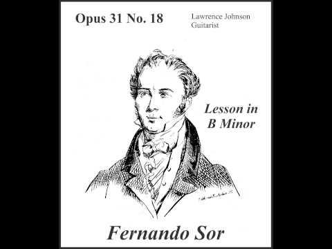 Fernando Sor - Opus 31 No 18