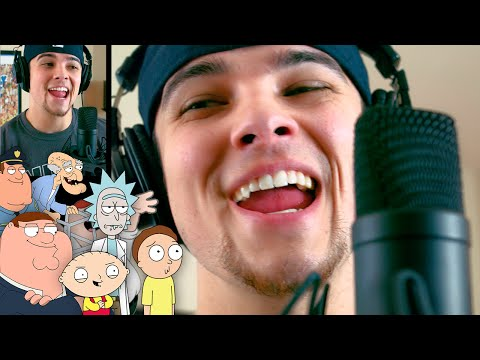 Adele - Hello (Sung In Cartoon Voices) | Mikey Bolts