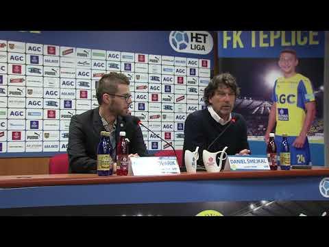 Tisková konference domácího týmu po utkání Teplice - Mladá Boleslav (13.4.2018)