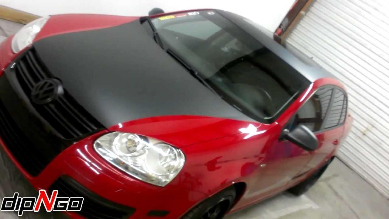 Volkswagen Jetta Smooth Plasti Dip Application - YouTube