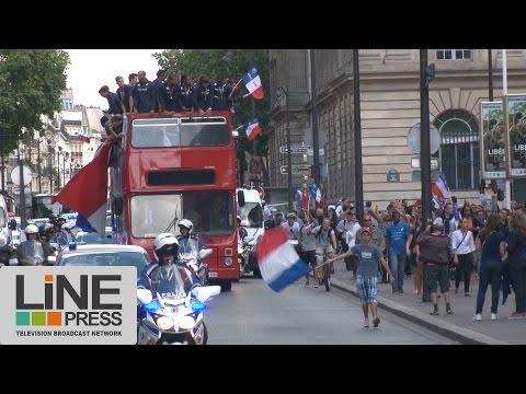 Retour triomphal des athlètes français des Championnats d'Europe / Paris - France 18 août 2014