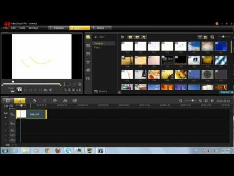 Make a full HD video (Corel video studio X5 Pro)