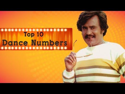 Top 10 Dance Numbers of Rajini | Jukebox