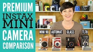 Premium Instax Mini Camera Comparison (Mini 90 vs. Automat vs. TL70)