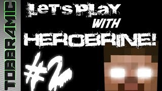 Minecraft lets play with herobrine part 2 (Dutch)