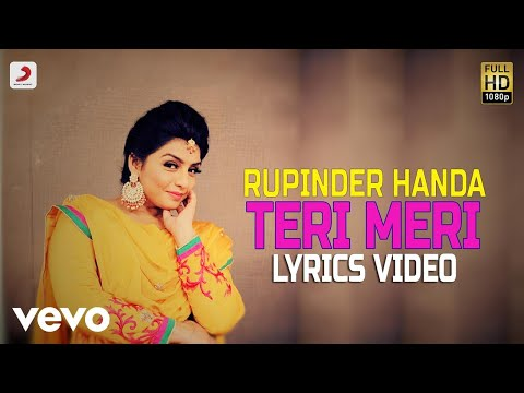 Teri Meri - Lyrics Video | Rupinder Handa