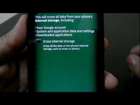 Format Sony Xperia S To Factory State