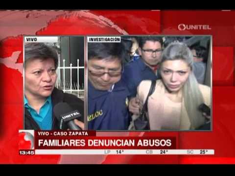 VIDEO: TÍA DE GABRIELA ZAPATA ASEGURA QUE EL HIJO DE LA MUJER CON EVO MORALES ESTÁ VIVO.