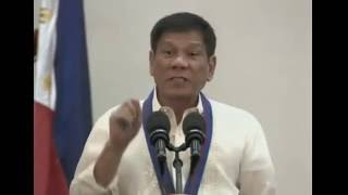 President Duterte Closing Statement at PNP Assumption of Command Ceremony