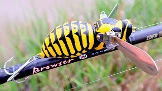 Making a Giant Wasp Lure