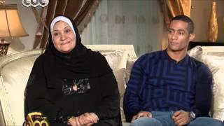 شاهد...ما قالته والدة محمد رمضان عن