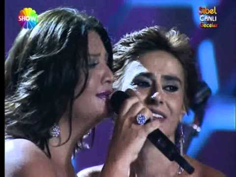 Sibel Can~Yildiz Tilbe Duet~ Cabuk Olalim Askim,CANLI GECELER