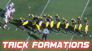 Craziest Trick Play Formations in Football History