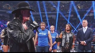 The Undertaker Returns To SmackDown Live 900