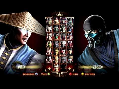 Mortal Kombat 9 All Fatalities / Finishing Moves Music Videos