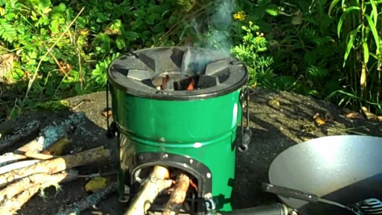 Wok Cooking With The Rocket Stove Youtube